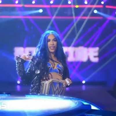 Sasha's 8K entrance