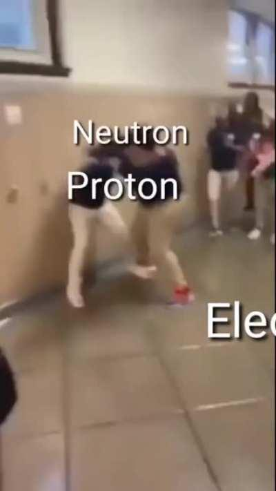 Electron do be just vibing there