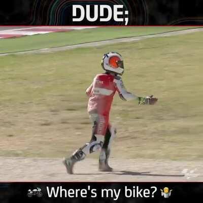 Where's my bike gone?