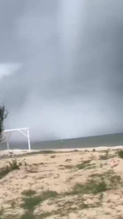 Tornadoes in Gelendzhik today