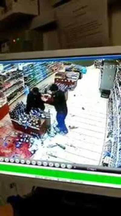 WCGW trying to buy more liquor when you're already quite wasted