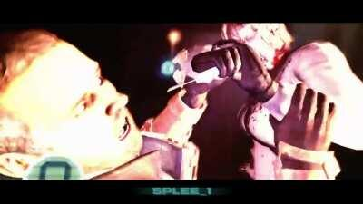I wanted to try and make a trailer out of the dead space 2 clips I recorded