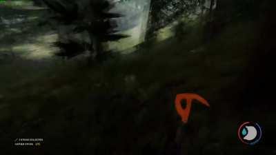 Tree-jumping cannibals
