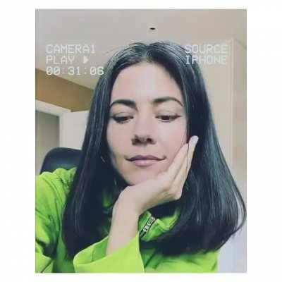 Marina revealed a demo of one of her future songs