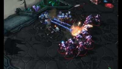 Terran Commercial - Thinking of playing Terran? Go to hell!