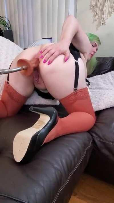 [F]ucked My Ass Into Oblivion With My Hismith. It Made Me Cum So Hard! My OnlyFans Is Open Now See Comments For Link! [VIDEO] [OC]