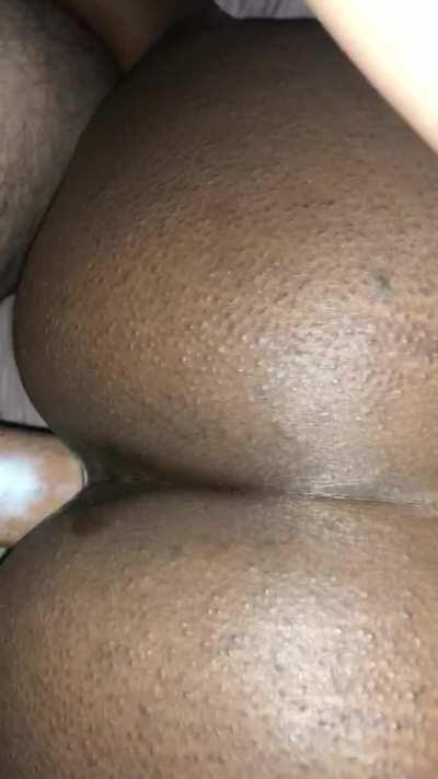 This is what happens to my pussy when I get white dick in it 🤤
