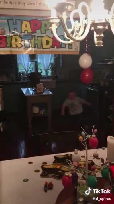 The kid was okay