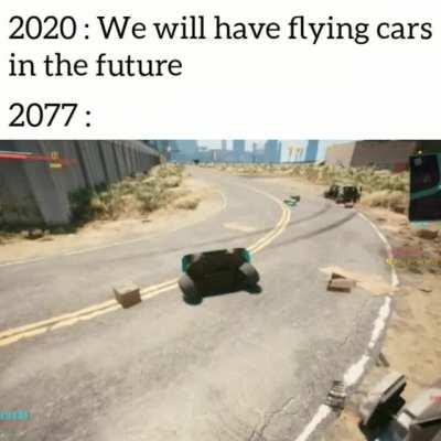 The future is not near