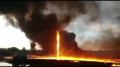 A Stunningly Brutal Fire Whirl