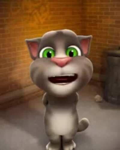 Sound on Talking tom has important msg