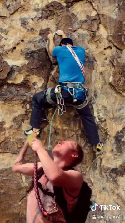 Im never going rock climbing again....😡