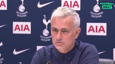 Jose is very happy with the strength of his squad: