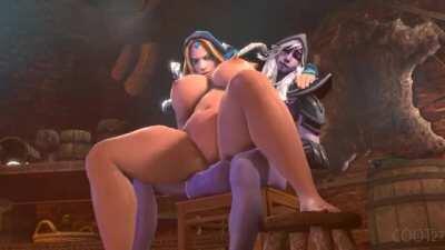Crystal Maiden Fucked By Futa Drow Ranger (Coot27) [Dota 2]
