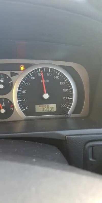 My car hit a milestone today!