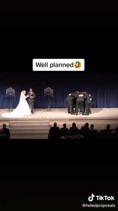Wholesome wedding