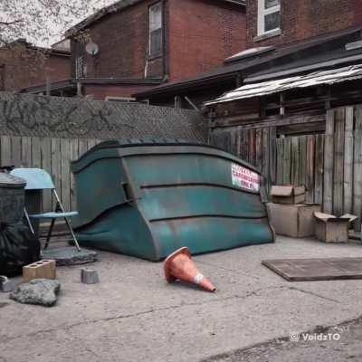 Dumpster Diving [OC]