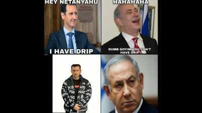 Bashar be drippin harddd 😤