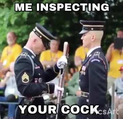 Mandatory cock inspection
