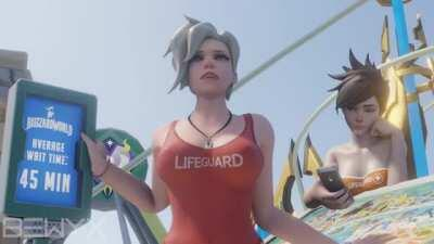Lifeguard Mercy - Average Wait Time (Bewyx)