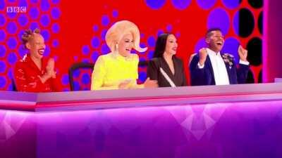 This is properly been the one of the recent best exit lines in Drag Race. [SPOILER]