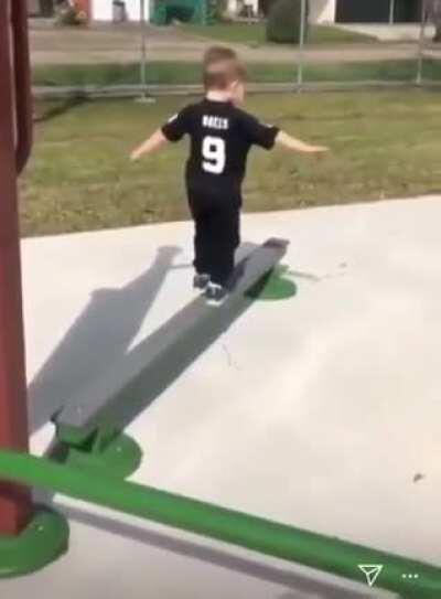 Poor kid