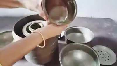 Whole Kitchen inside a bucket, best for travelling in old days- Tamil video showing the skills of our ancestors