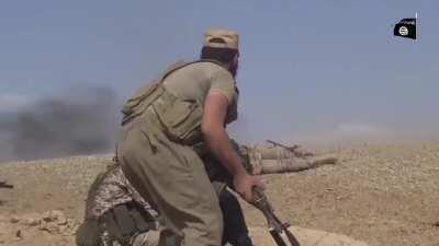 [Combat Edit] ISIS In the Sinai Take Heavy Casualties in a Confrontation With The Egyptian Military (Date Unknown)
