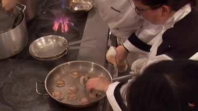 Use a non-stick pan