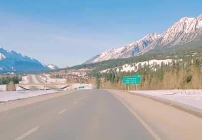 Cochrane to Banff