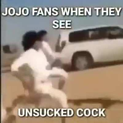 This is just for laugh of course I'm also a jojo fan