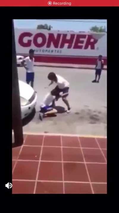 Literally fight porn