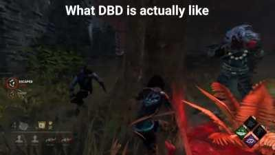 What ppl think dbd will be like, VS what dbd is actually like