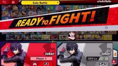 The Smash Announcer has had enough.