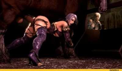 Fun in the stables (Ivy Valentine)