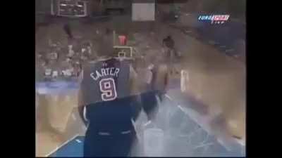 20 years ago today, Vince Carter performed one of the best dunks of all time over the 7'2
