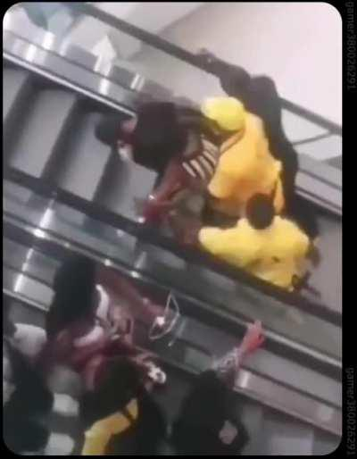 WCGW using the elevators for first time