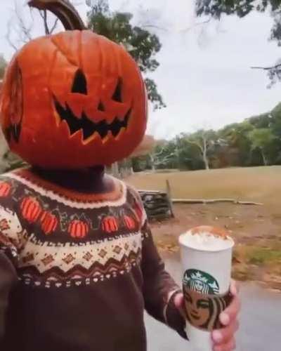 Tony Hawk celebrating spooky season