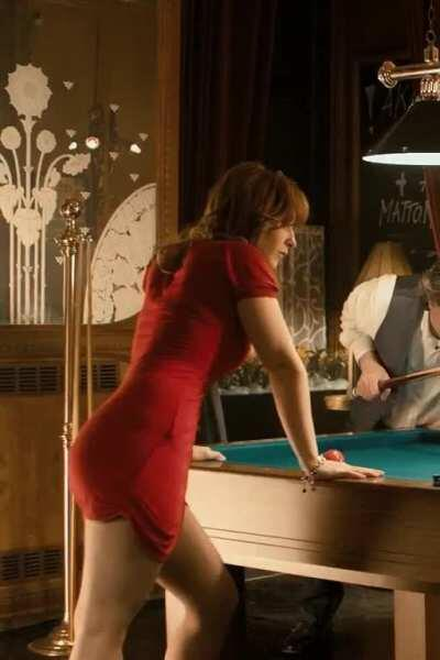 Men in Hope (2011) Vica Kerekes as Sarlota (billiards cleavage) part 2 [cropped, sharpen] 1080p