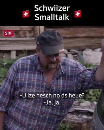 Schwiizer Smalltalk