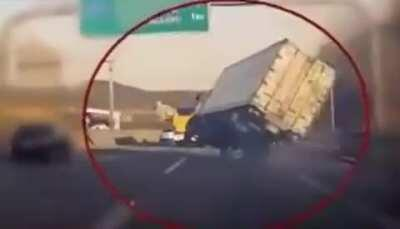 Truck Driver Attempts Impossible Save