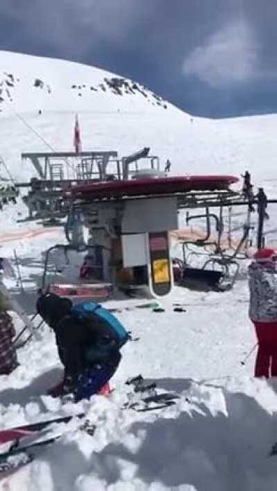 Nightmare skilift