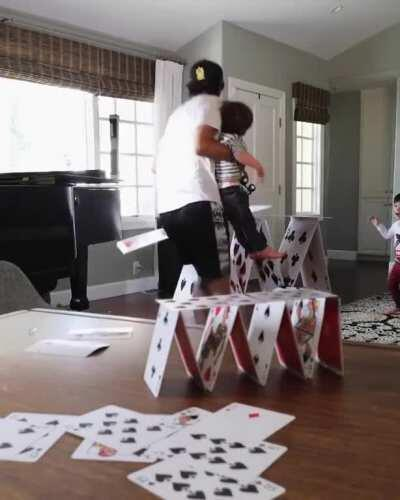 This Playing Cards Magic with Kids