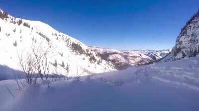 Just a regular ski trip...