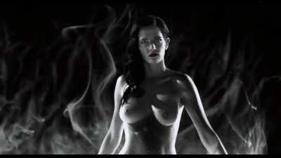 Eva Green boobs compilation from Sin City 2