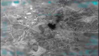 Turkish Air Force hitting pkk targets in northern Iraq, 15.06.2020