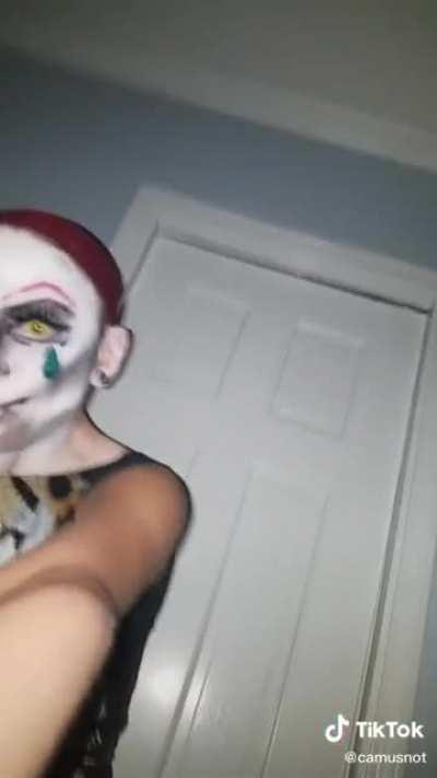 pov: someone gave dobby makeup and a nail kit