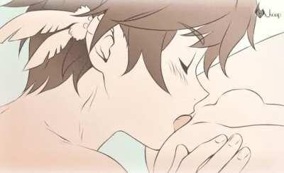 Licking you softly 😩