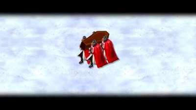 Teuton Coffin Dance - Meme Template