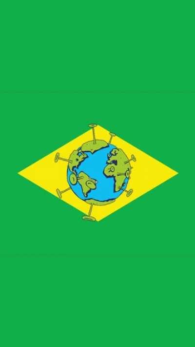 Vídeo curto pra tentar explicar em um minuto por que é TÃO importante conter o COVID no Brasil.